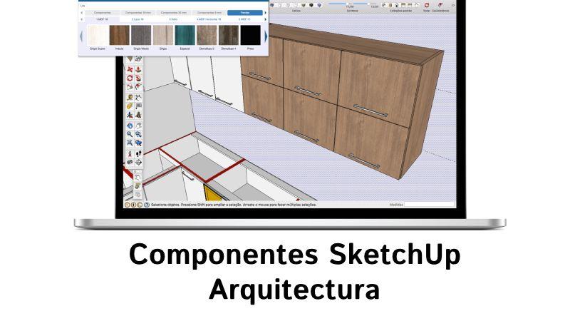 Componentes SketchUp Arquitectura gratis