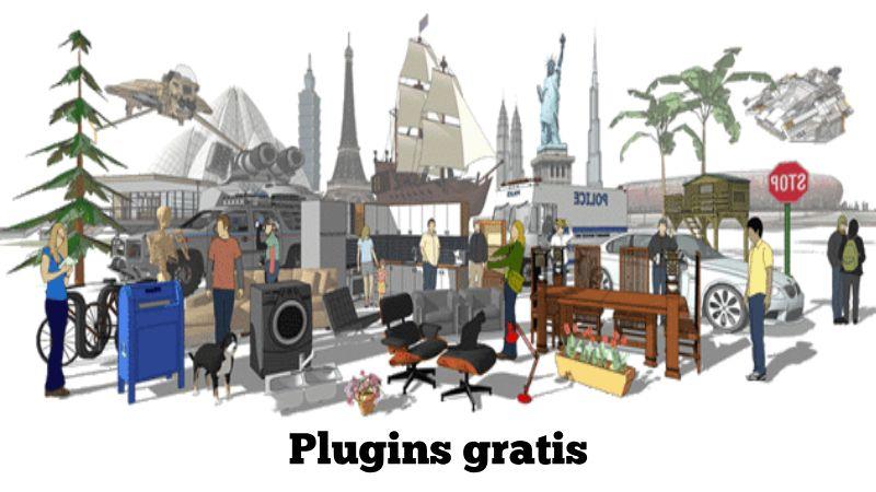 descargar plugins pro para sketchup