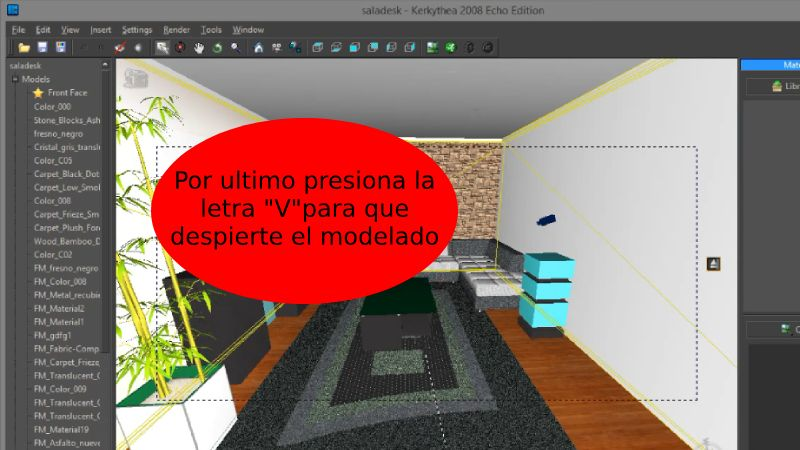 Solución al exportar archivos a Kerkythea