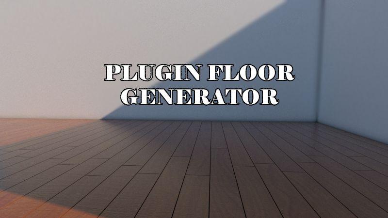 Como funciona floor generator pro gratis en sketchup