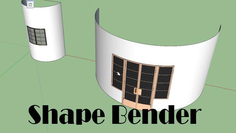 descargar shape bender sketchup