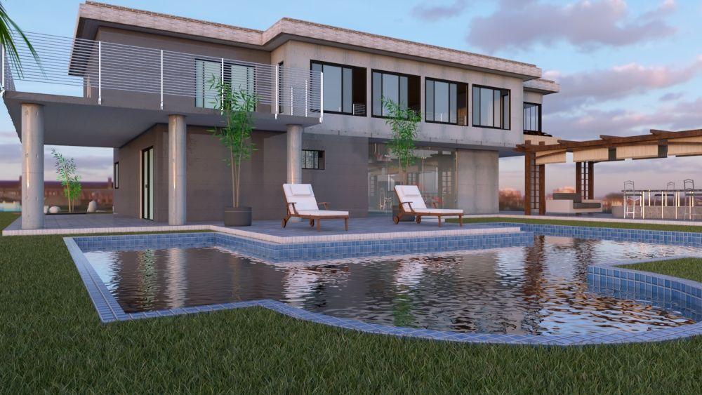 construir casa en sketchup