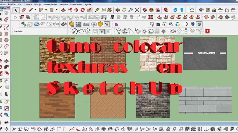 como agregar texturas Cambiar de posición de una textura