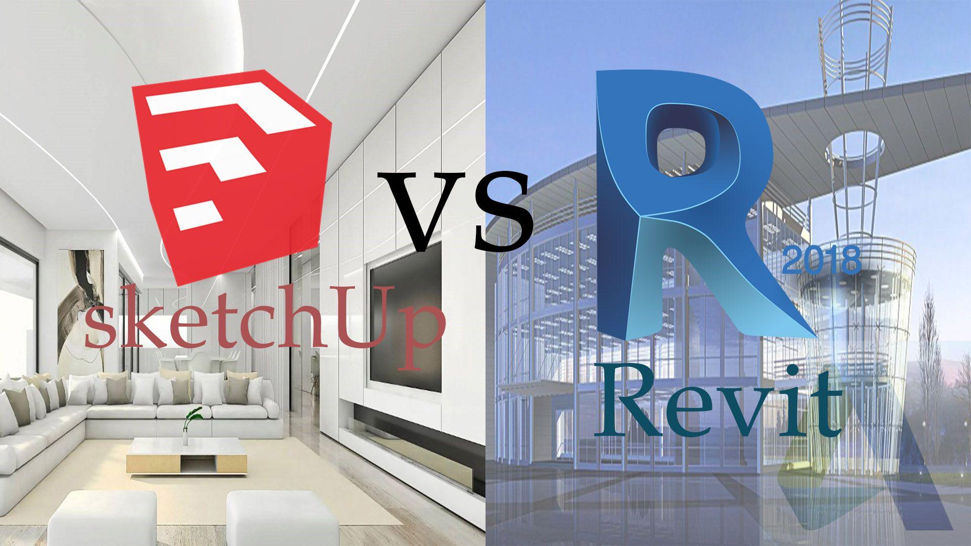 sketchUp vs Revit en espanol cual es el mejor comparacion