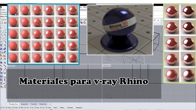 texturas para v-ray Rhino
