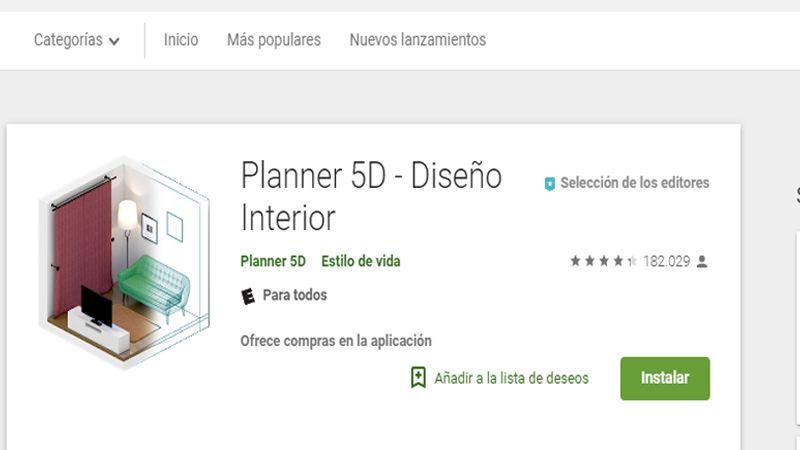 APP para hacer casas en 3D