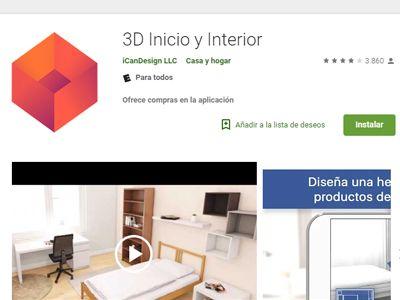 app para hacer una casa en 3d