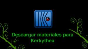 descargar materiales para kerkythea